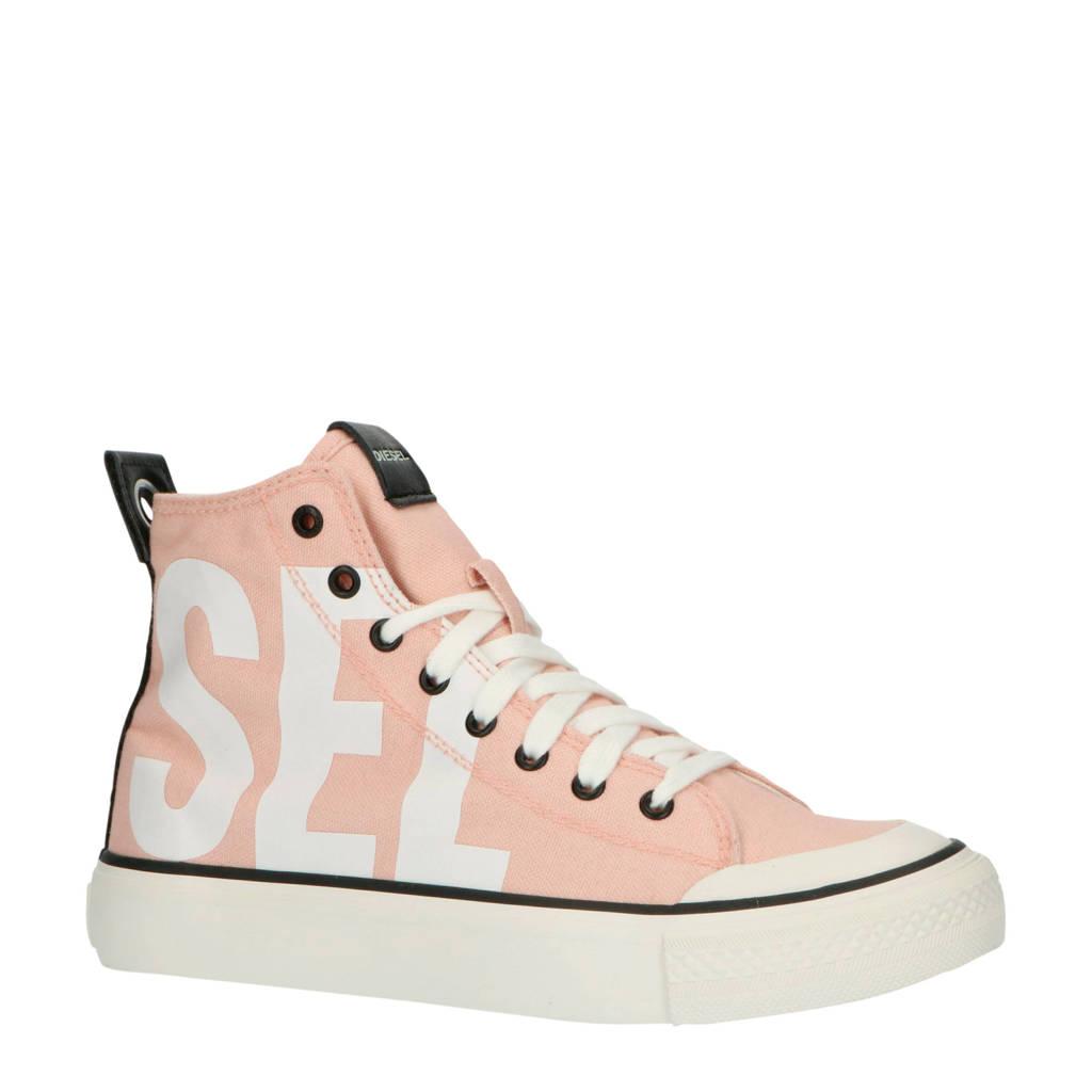 Diesel S-Astico MC W sneakers roze/wit, Roze/wit