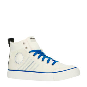S-Astico MC H  halfhoge sneakers wit/blauw