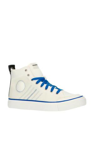 S-Astico MC H  halfhoge sneakers wit/blauw