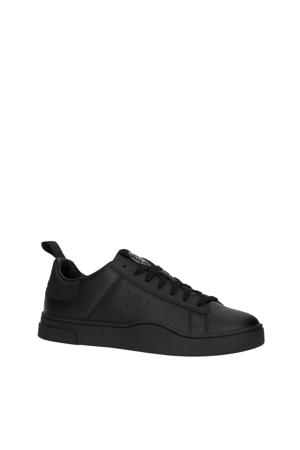 S-Clever Low  leren sneakers zwart