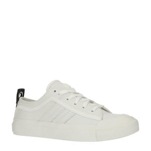 S-Astico Low Lace W  leren sneakers wit