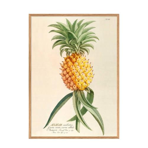 The Dybdahl Co wanddecoratie Ananas (30x40 cm)