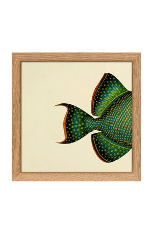 poster Mini Half Fish (15x15 cm)