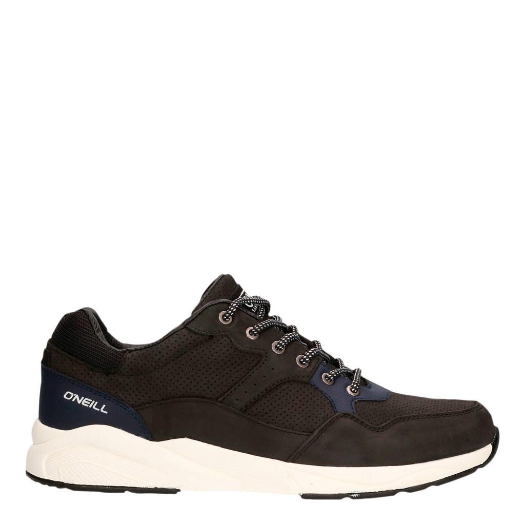 O'Neill Unit Low  nubuck sneakers zwart, Zwart
