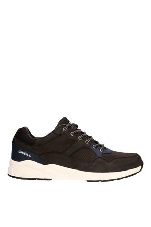 Unit Low  nubuck sneakers zwart