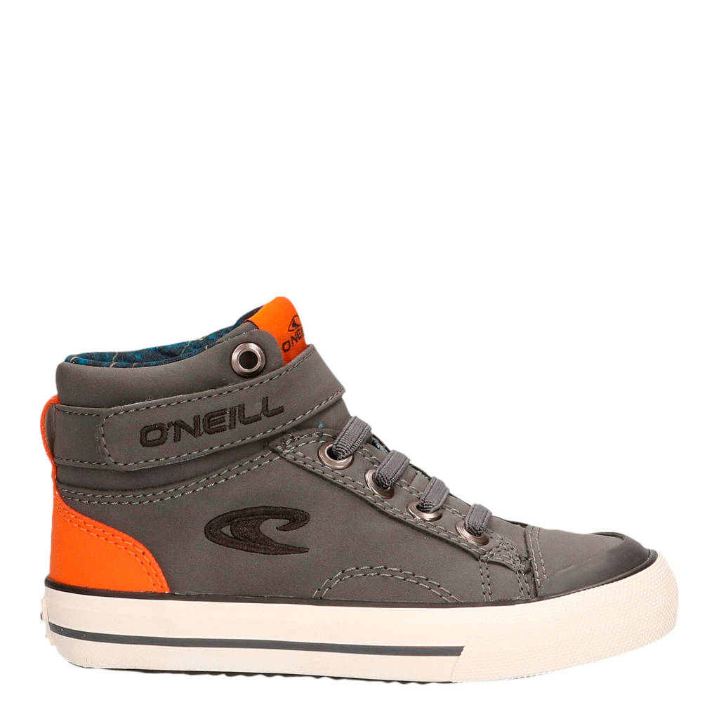 O'Neill Diddy Infants  hoge sneakers grijs, Grijs/oranje
