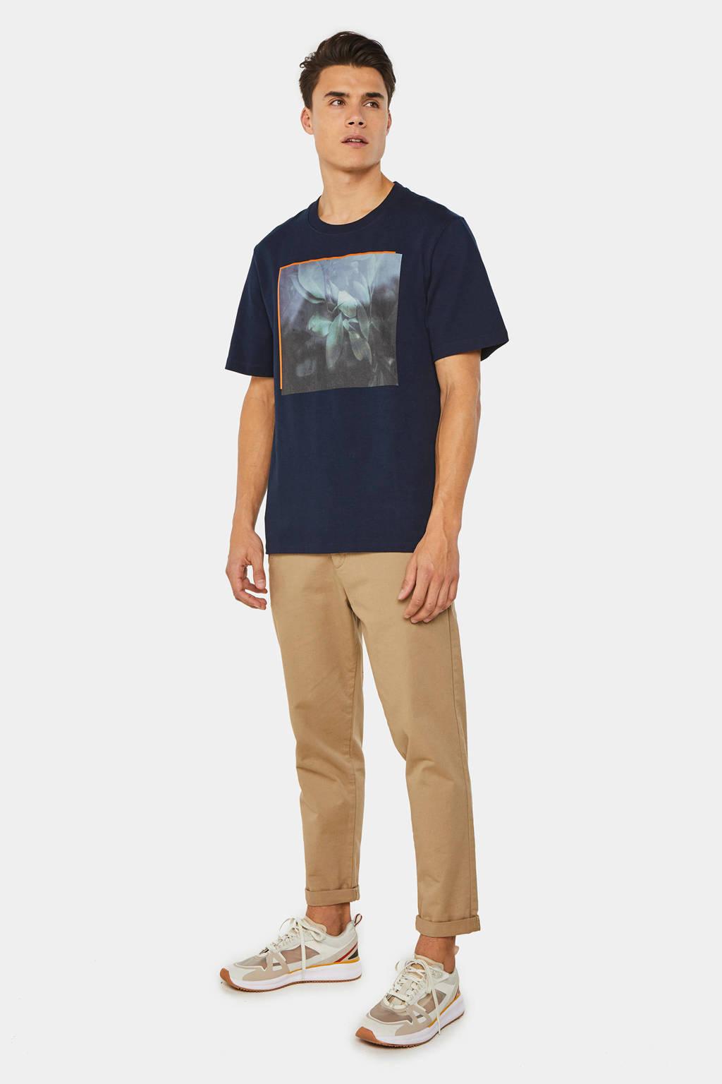 WE Fashion T-shirt met printopdruk royal navy, Royal Navy