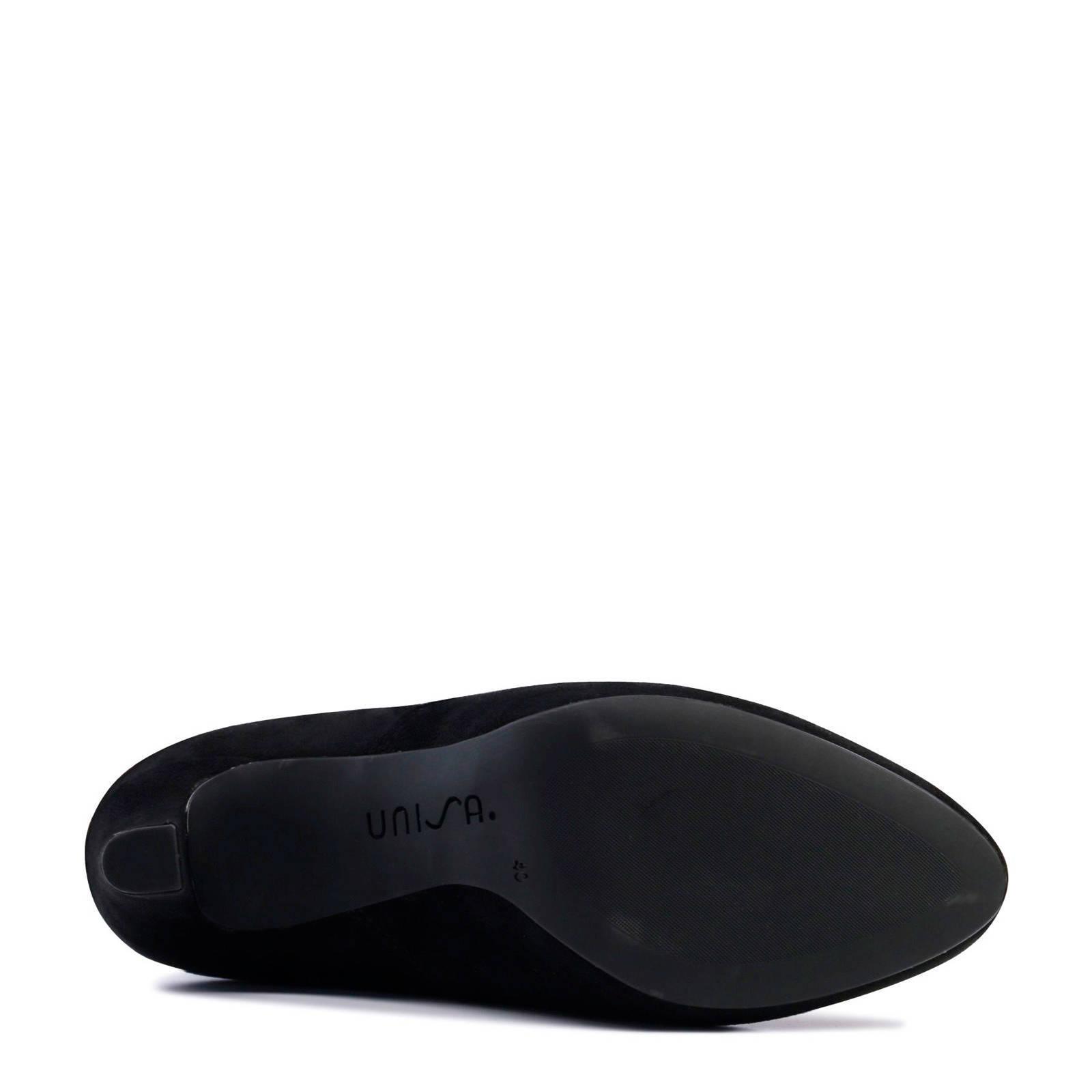 Unisa suède overknee laarzen   wehkamp