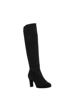 Natalie  suède laarzen zwart