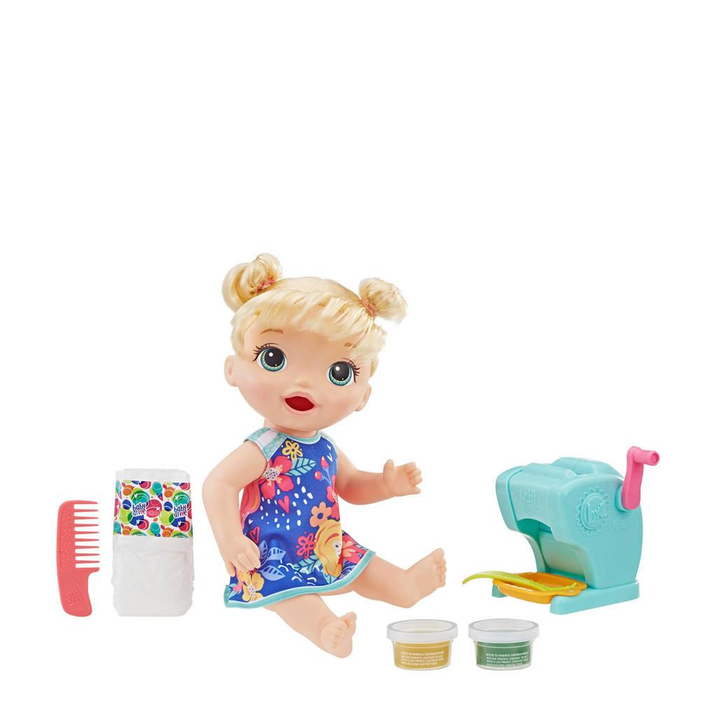 Baby Alive Snackin Pasta Baby Blond babypop