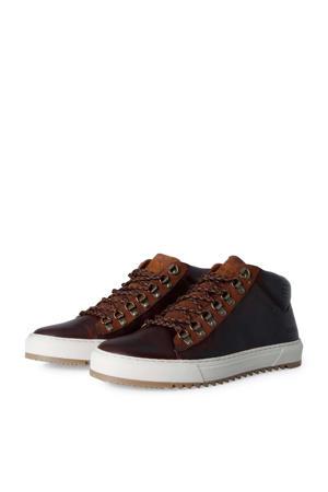Bolina Mid  leren sneakers bruin