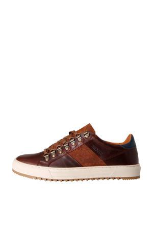 Carcavelos Low  leren sneakers bruin