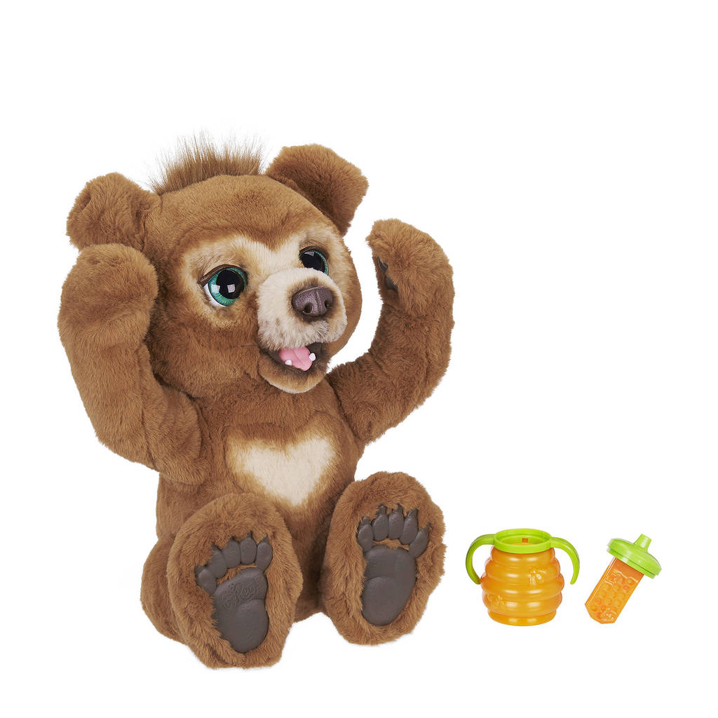 FurReal Friends Cubby de Beer interactieve knuffel, Bruin