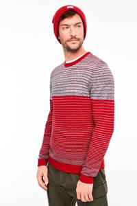 s.Oliver gestreepte trui rood, Rood