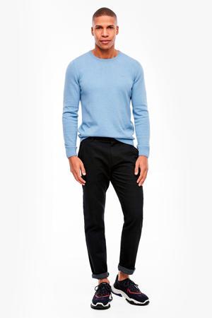 regular fit pantalon antraciet