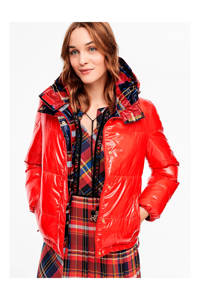 s.Oliver gewatteerde winterjas rood, Rood