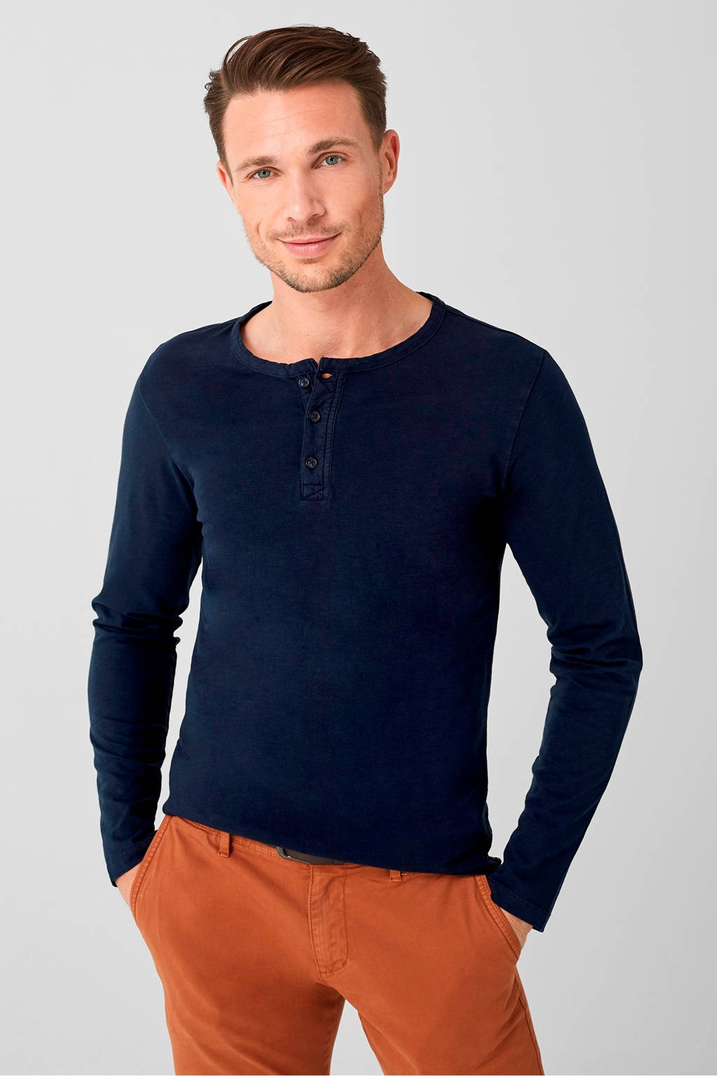 s.Oliver T-shirt marine, Marine