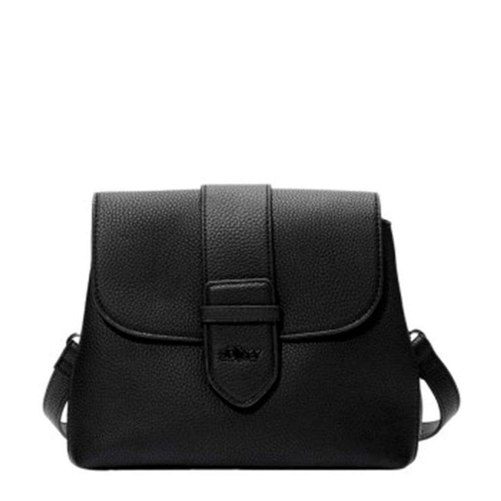 s.Oliver   crossbody tas zwart, Zwart
