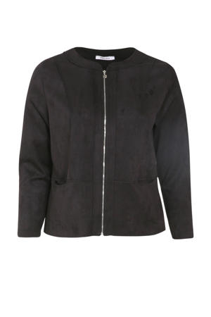 imitatiesuède jasje zwart