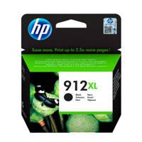HP HP 912 XL INK BLACK inktcartridge, Zwart