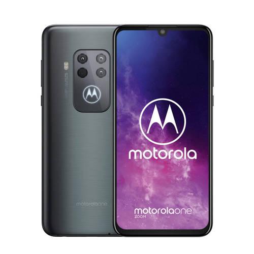 Motorola One Zoom Grijs