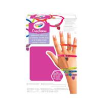 Crayola Regenboog armbanden set