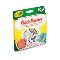 Crayola textielstiften 10 stuks
