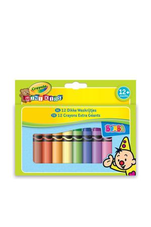 Mini Kids Bumba dikke waskrijtjes 12 stuks