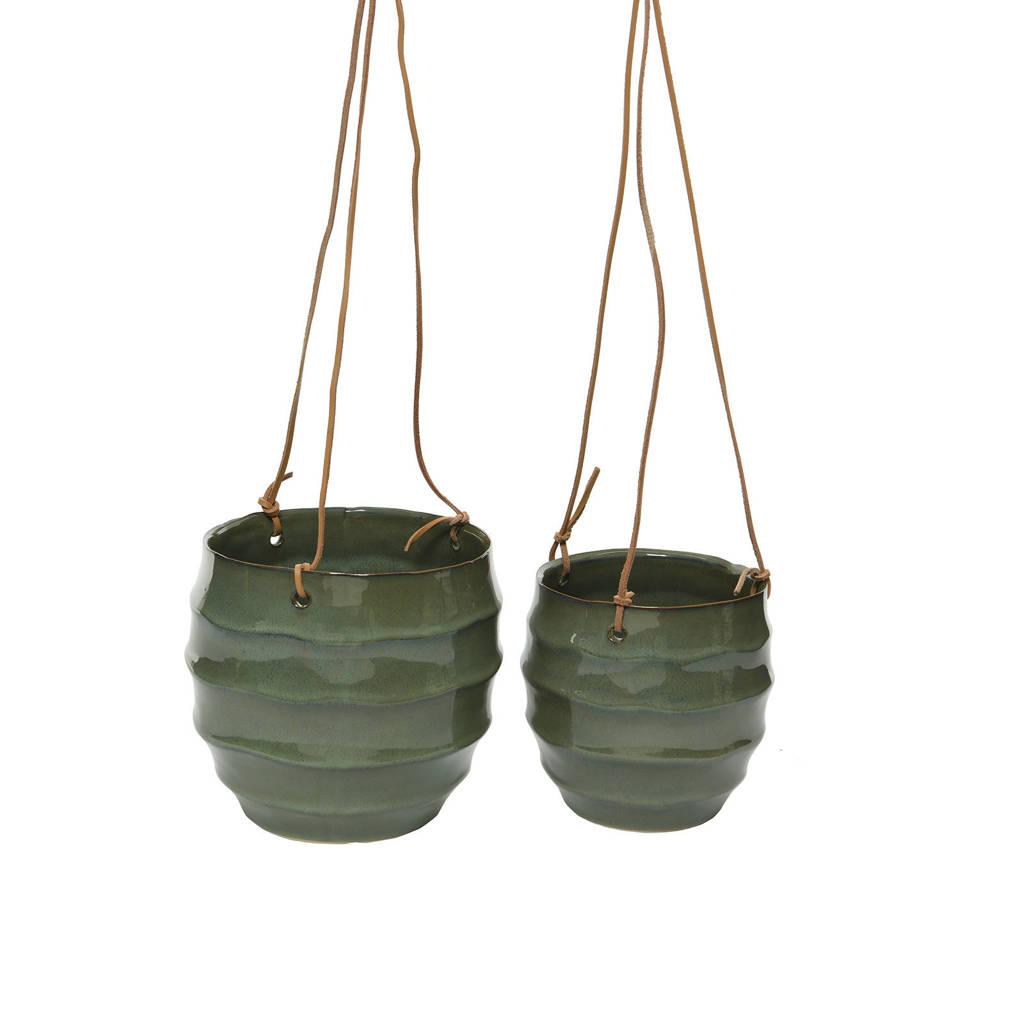 Kaemingk plantenhanger (set van 2), Groen