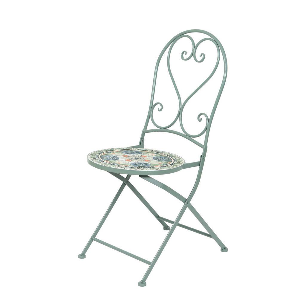 Outdoorliving by Decoris stoel Bistro, groen/kleur(en)