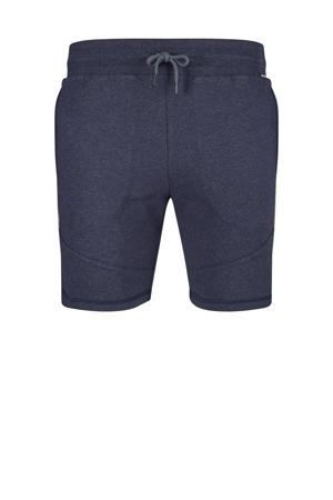 sweatshort marine/grijs