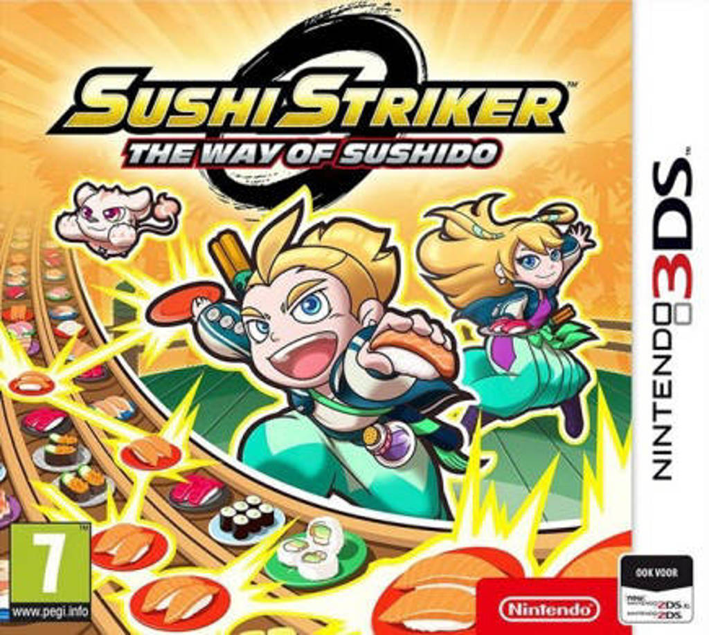 Sushi striker – Way of sushido (Nintendo 3DS)