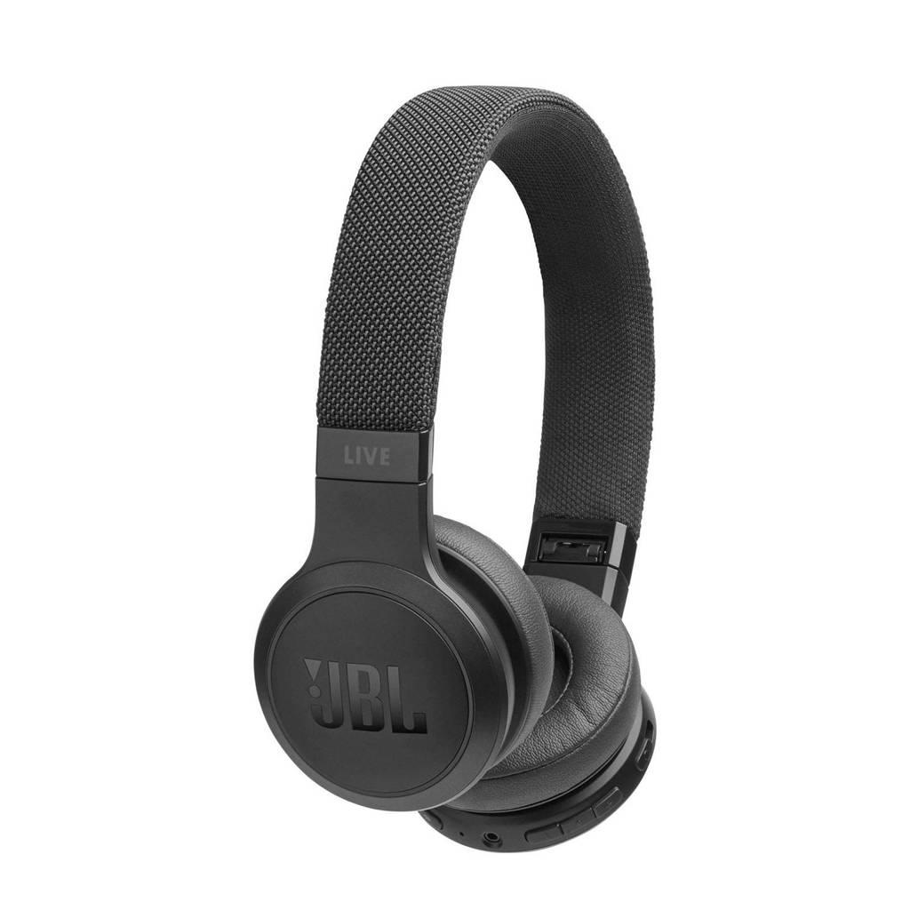 JBL LIVE 400BT Bluetooth on-ear koptelefoon, Zwart