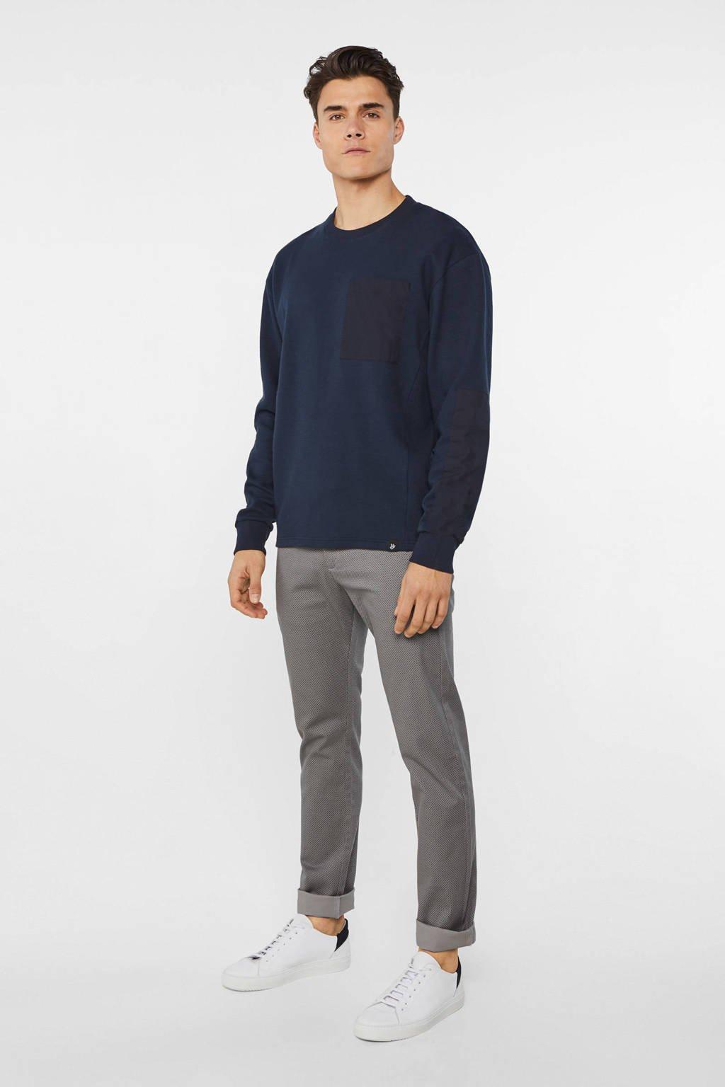 WE Fashion Fundamentals skinny fit pantalon grijs, Grijs