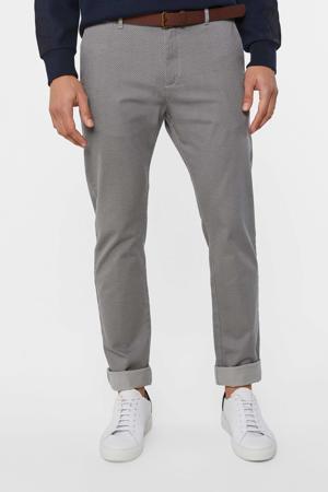 skinny fit pantalon grijs