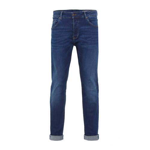 WE Fashion Blue Ridge regular fit jeans dark jog d