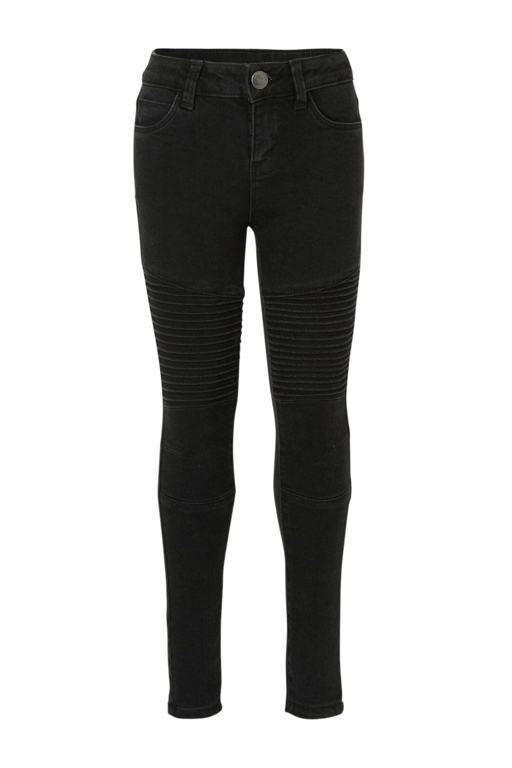 C&A Here & There skinny jeans zwart, Zwart