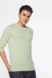 WE Fashion Fundamental sweater pastel mint, Pastel Mint