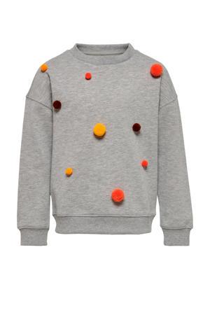 sweater light grey melange