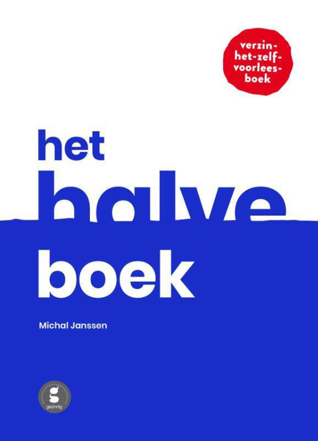 Het halve boek - Michal Janssen