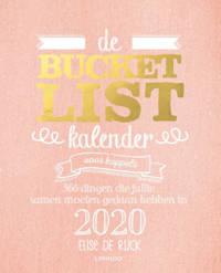 Bucketlist: De bucketlistkalender voor koppels 2020 - Elise de Rijck