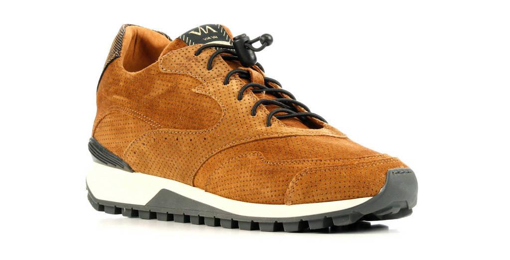 Via Vai 5304011  suède sneakers bruin, Bruin