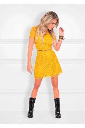 A-lijn jurk Nora geel