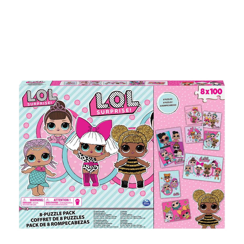 L.O.L. Surprise! 8-in-1  legpuzzel 800 stukjes