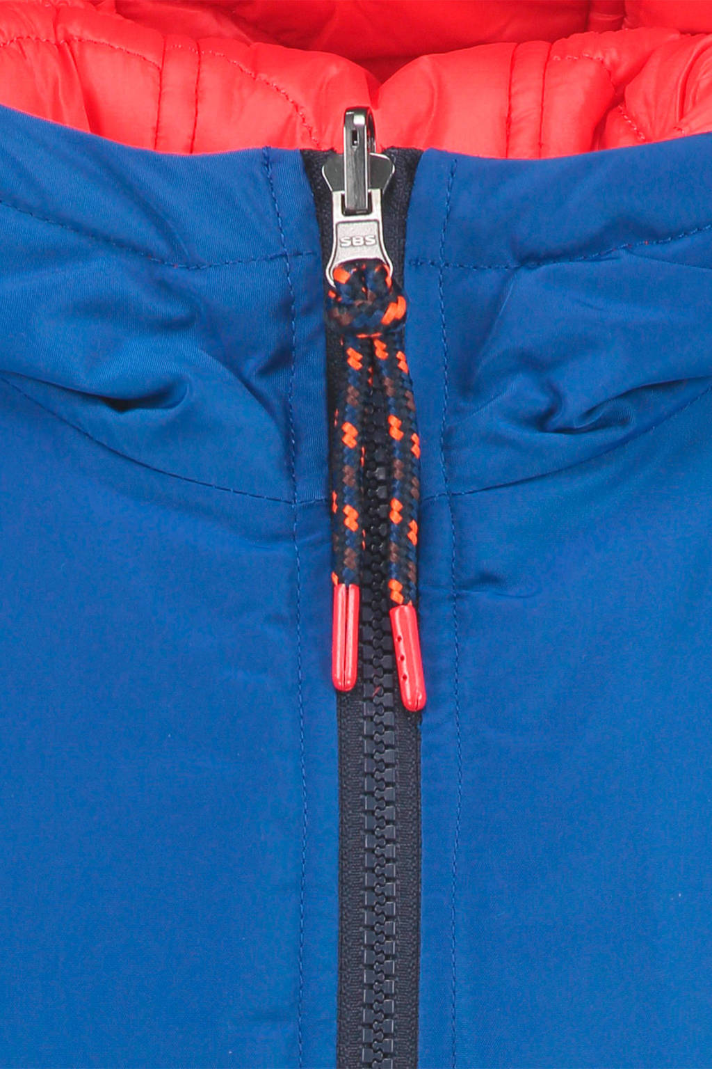 CKS KIDS winterjas Boydan blauw/donkerblauw, Blauw/donkerblauw