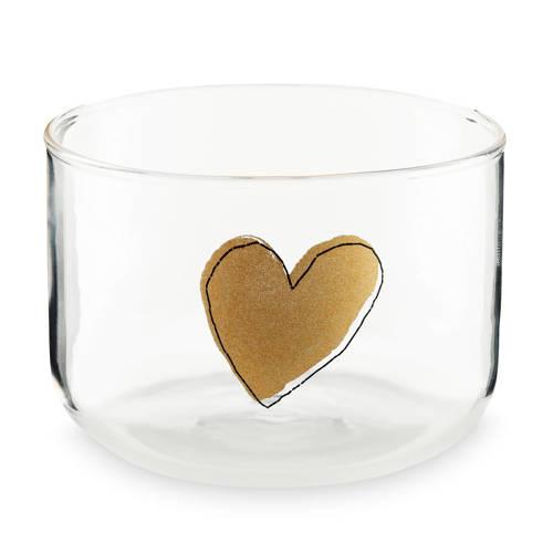 vtwonen Happy Christmas Heart water glas (290 ml)