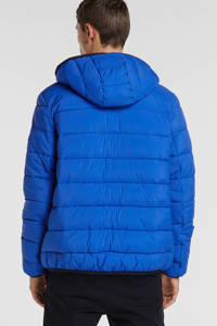 Tommy Jeans jack blauw/donkerblauw/rood, Blauw/donkerblauw/rood