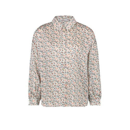 Aaiko Seven blouse met all over print wit