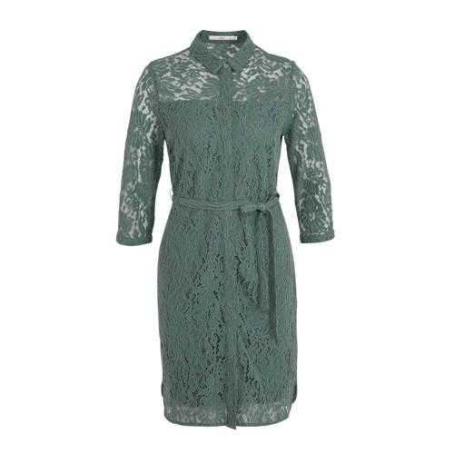 Aaiko Ladina blousejurk met kant groen
