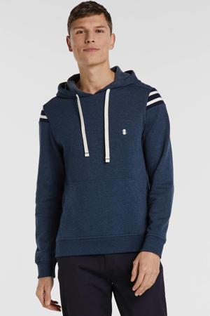 gemêleerde hoodie marine